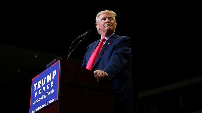 Aussage zu Atomwaffen schockt USA: Schmeißt Trump die Präsidentschaftskandidatur hin?