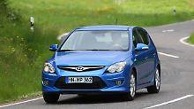 Gebraucht ein Schnäppchen: Hyundai i30 ist guter Durchschnitt