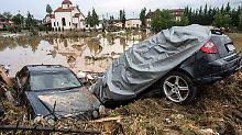 Die Unwetter trafen das Gebiet um Skopje und hinterließen großen Schaden.
