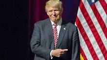 """""""Er hat einen Witz gemacht"""": Trump ließ Baby nicht rauswerfen"""