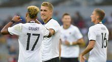 Es gibt noch Fußball-Zwerge: DFB-Team schreibt Olympia-Geschichte