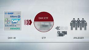 Geringe Schwankungen: Risikoscheue Anleger greifen zu ETFs