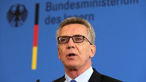 Burka-Verbot und schärferes Asylrecht: Kritik an de Maizières Sicherheitspaket wächst