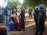 Sorge um Krieg im Südsudan: UN schickt 4000 Blauhelme