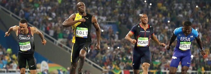 Der neunte Tag in Rio: Kämpfer, Legenden und ein neuer Weltrekord