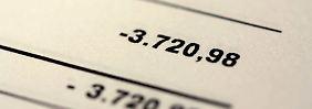 Bis zu 13,75 Prozent Zinsen: Banken kassieren bei Dispo weiter ab