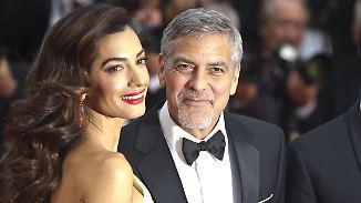 Promi-News des Tages: Bekommen Amal und George Clooney ihr erstes Kind?