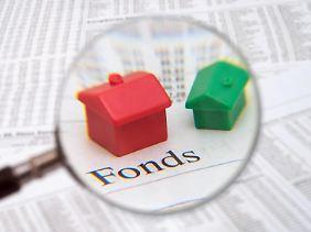 Die Baubranche boomt. Immobilienfonds gehören daher derzeit zu den beliebtenGeldanlagen.