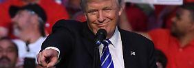 US-Präsidentschaftskandidat Donald Trump gibt sich neuerdings handzahm.