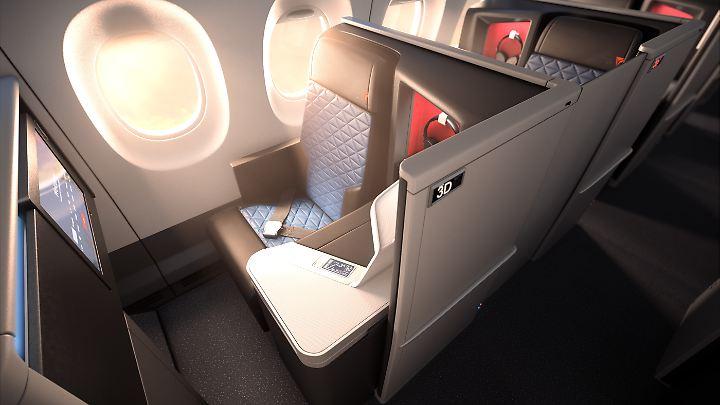 Delta-Suite mit Schiebetür.