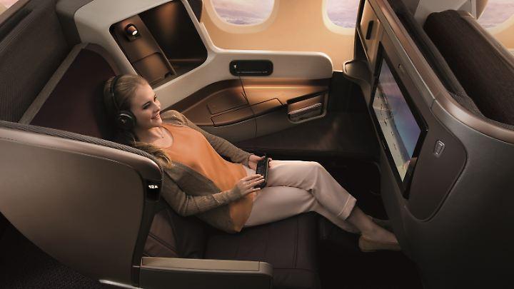 Business Class im A330.
