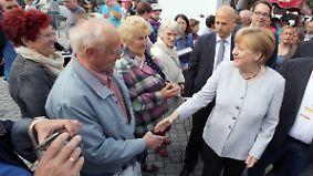 Wahl in Mecklenburg-Vorpommern: Merkel könnte für Flüchtlingspolitik abgestraft werden