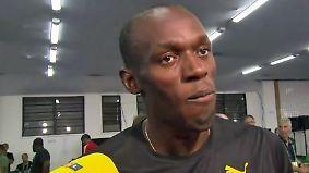 """Usain Bolt nach seinem 200-Meter-Gold: """"Ich bin enttäuscht"""""""