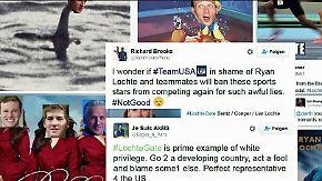 n-tv Netzreporter: Internetgemeinde geht mit US-Schwimmer Lochte hart ins Gericht