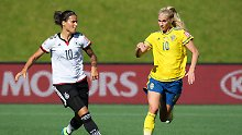 Abschiedsgeschenk für Trainerin Neid: Fußball-Frauen haben Gold im Visier