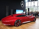 Maybach 6 bleibt ein Traum: Mercedes-Studie mischt PS-Party auf