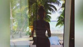Promi-News des Tages: Gigi Hadid entspannt mit viel nackter Haut