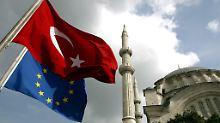 Europa und die Türkei haben sich 2016 politisch weiter entfernt.