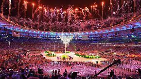 Abschlusszeremonie in Rio: Bunter Knall beendet Olympische Spiele