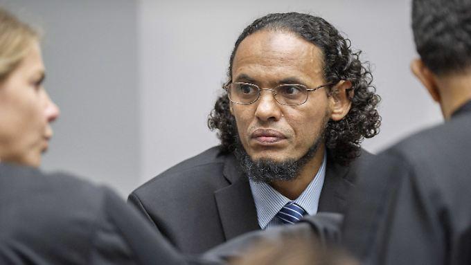 """Vom Brandstifter zum Kronzeugen: Vor Gericht rief der geständige Islamist """"alle Muslime in der Welt"""" auf, Extremisten wie al-Kaida zu widerstehen."""