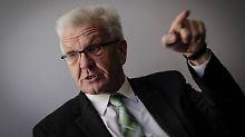 Kretschmann: Wenn Geheimverhandlungen nicht geheim bleiben können, haben sie keinen Sinn.