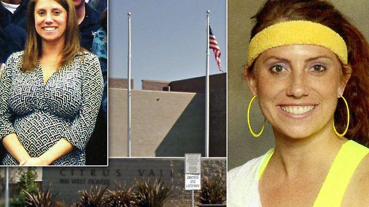 Die Lehrerin Laura Whitehurst gab zu, mit drei Schülern Sex gehabt zu haben.