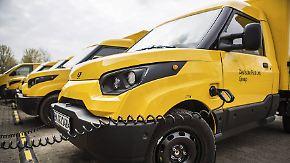 Eigene Produktion von E-Zustellautos: Post will gesamten Fuhrpark auf Streetscooter umstellen