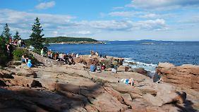 Acadia-Nationalpark in Maine an der Ostküste.