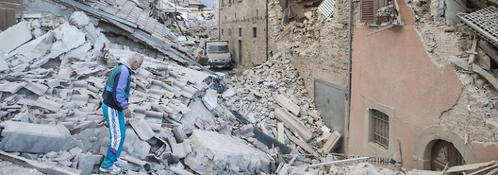 """Amatrice ist zur Hälfte zerstört: Italien erlebt ein weiteres """"L'Aquila"""""""