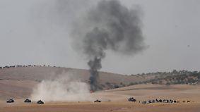 """Akt der """"Selbstverteidigung"""": Türkei startet erstmals Bodenoffensive in Syrien"""