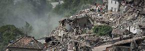Etliche Tote nach Erdbeben: Italien erlebt Apokalypse
