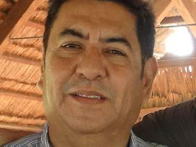 Gabriel Alvarado sieht für seine Stadt eine gute Zukunft.