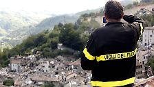 Erdbeben tötet Hunderte Menschen: Das Herz Italiens liegt in Trümmern