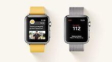 Watch-OS-Update mit SOS-Funktion: Apple Watch ruft auf Knopfdruck Hilfe