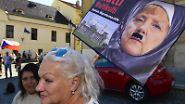 Visegrad-Gruppe in Warschau: Merkel trifft ihre wohl härtesten Gegner in Sachen Flüchtlingspolitik