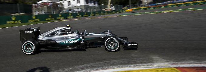 Youngster Verstappen toppt Bestzeit: Rosberg fährt erst stark, dann schwach