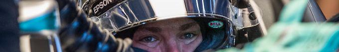 """Der Sport-Tag: 19:07 Rosberg lobt seinen """"Heiligenschein"""""""