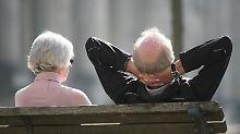 Vorzeitiger Ruhestand: Wer 45 Jahre rentenversichert ist, kann schon mit 63 Jahren in Rente gehen.