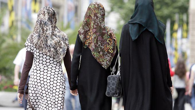 Laut französischer Medien sollen die beiden Frauen vollverschleiert gewesen sein.