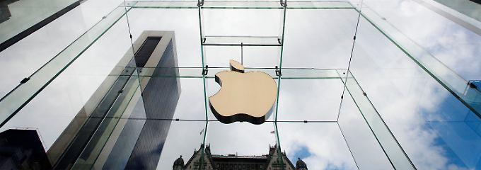 Nur moderate Verluste: Milliardenforderung lässt Apple-Aktie fast kalt
