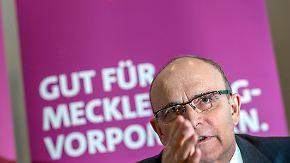 """AfD in MV vor großem Durchbruch?: Ministerpräsident Sellering: """"Verschenkt eure Stimme nicht"""""""