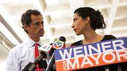 Erneuter Sexting-Skandal: Clinton-Vertraute Abedin trennt sich von Ehemann Weiner
