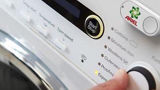 Mit einem Knopfdruck an der Waschmaschine wird Waschmittel nachbestellt. Foto: Amazon