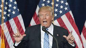 Nach Überraschungsbesuch in Mexiko: Trump will mit aller Härte gegen illegale Einwanderer vorgehen