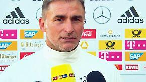 Testspiel gegen die Slowakei: Kuntz gibt Premiere als U21-Trainer