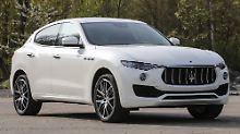Dreizack im Vormarsch: Der Levante soll den Maserati-Absatz erheblich vergrößern.