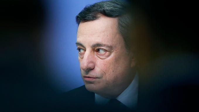 EZB-Chef Mario Draghi.