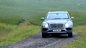 Bentleys Einstieg in den SUV-Markt: Wo der Bentayga zu Hause ist