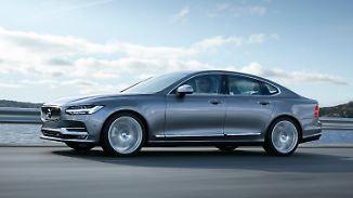 Neue Business-Limousine aus Schweden: Volvo S90 - weniger Kanten, mehr Technik