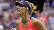 In New York bezwingt die Kielerin Karolina Pliskova und wird damit ...